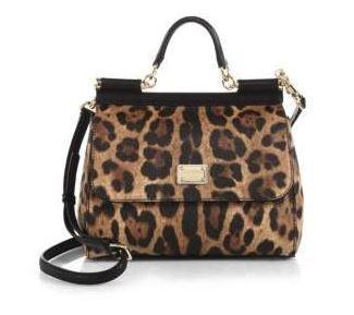 Dolce & Gabbana Cheetah Print Handbag. BUY NOW!!!