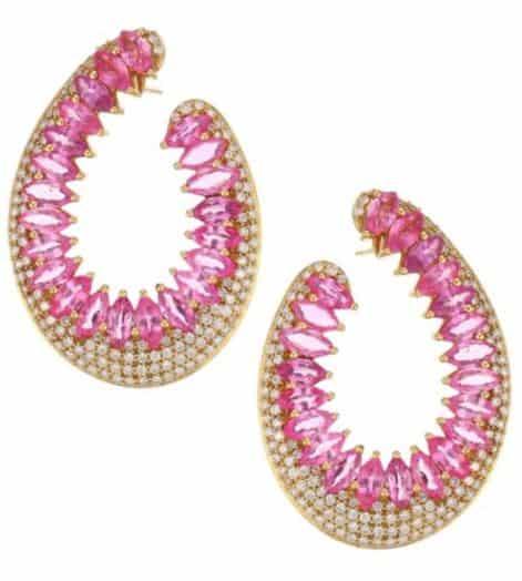 Hueb Hoop Earrings. BUY NOW!!! #beverlyhills #beverlyhillsmagazine #bevhillsmag #shop #shopping #jewelry
