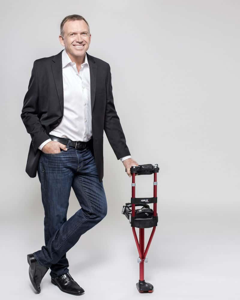 iWalk2.0 Medical Breakthrough Replaces Crutches #health #medical #iwalk #crutches #brokenleg #cool #inventions #beverlyhills #beverlyhillsmagazine #bevhillsmag