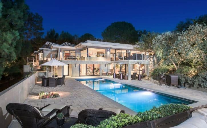 Jane Fonda Beverly Hills Home