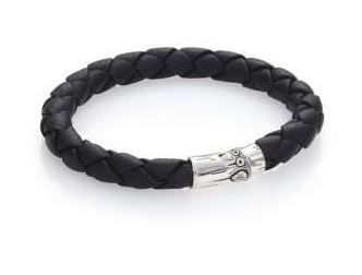 John Hardy Leather Bracelet For Men. BUY NOW!!!