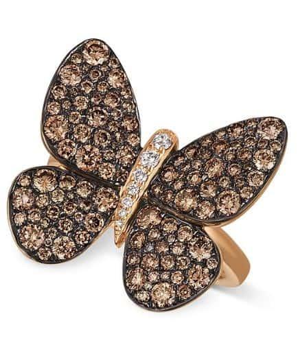 Butterfly Diamond Ring. BUY NOW!!! #beverlyhills #beverlyhillsmagazine #bevhillsmag #shop #shopping #jewelry