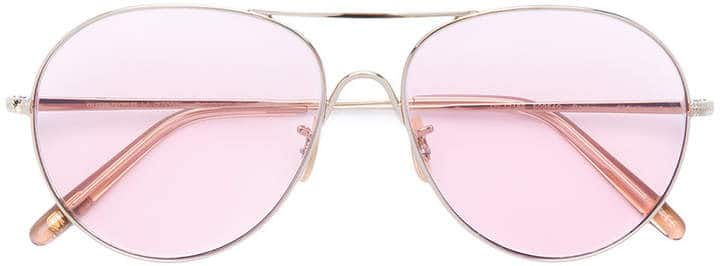 Pink Oliver Peoples Aviator Sunglasses. BUY NOW!!!