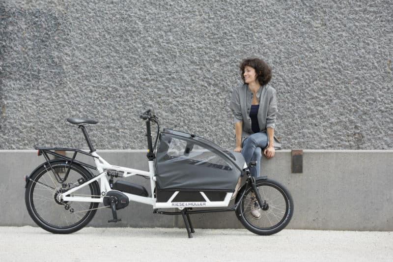 The ultimate German engineered E-Cargo bike