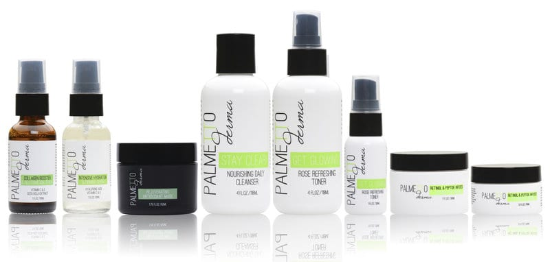 Palmetto Derma Skincare Set. BUY NOW!!!