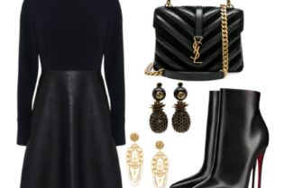 Stella McCartney Black & Gold Style